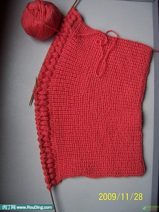 棒针织围巾起针视频_DIY毛衣编织款式图解含毛衣编织款式视频封