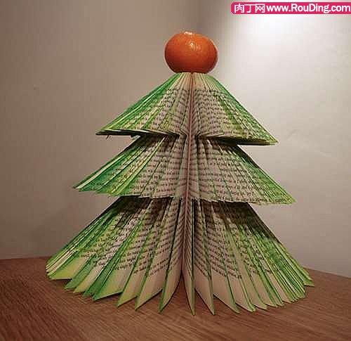 独一无二的手工创意圣诞树