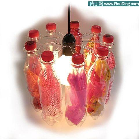 废品利用饮料瓶制作