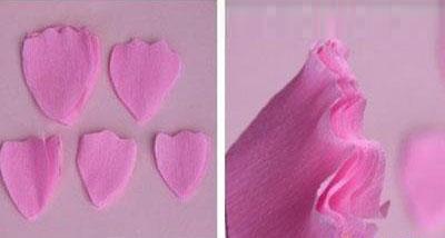 手工制作纸花朵—木槿花diy教程-封存 日志测试页