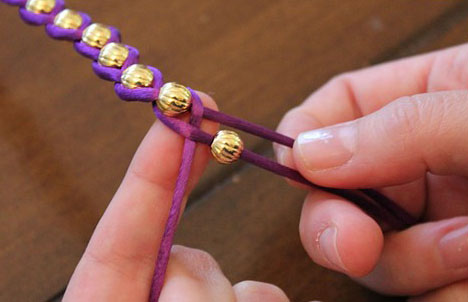 diy复古串珠手链制作方法图解