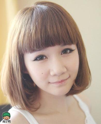 日志头发型女士脸型DIY封存教程-图解梨花测40图片短发波波头发型设计与短发搭配图片