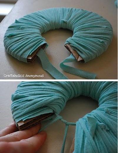 装饰绣球布花的制作方法图解
