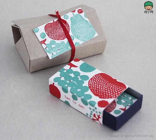 礼品盒卡片,手绘生日卡diy实用效果