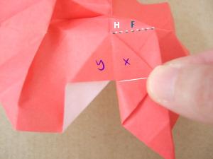 折纸花 漂亮的玫瑰折纸手工图解图片