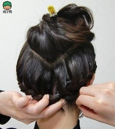 编头发的步骤及图片蜈蚣辫