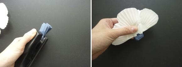 海葵花纸花的制作方法