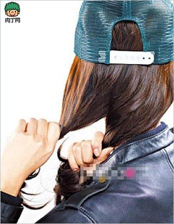 DIY打造3款美帽俏丽感发型[组图]