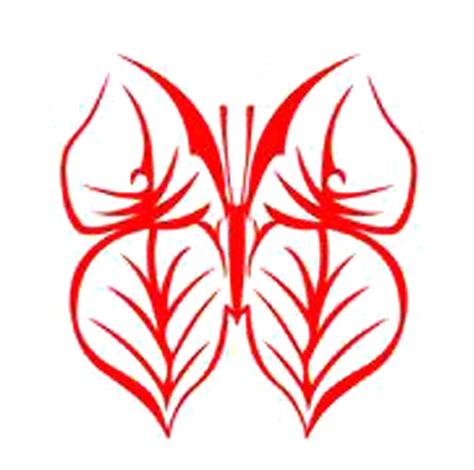 剪纸教程 窗花纹样蝴蝶剪纸的具体方法-封存 日志测试