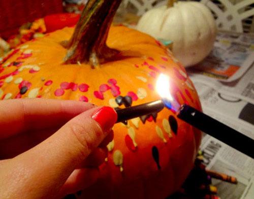 教你DIY一款万圣节南瓜道具万圣节南瓜道具的制作方法的制作方法