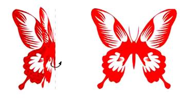 教你蝴蝶剪纸 窗花类蝴蝶新纹样剪纸教程