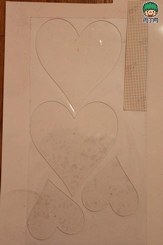 创意钟表 利用有机玻璃DIY时尚桃心钟表的方法图解