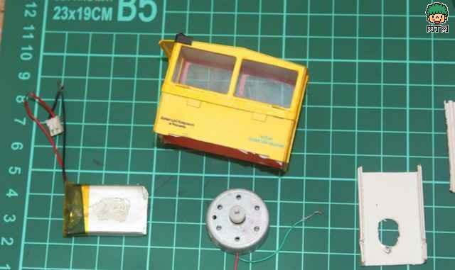 自制遥控火车模型的教程图解