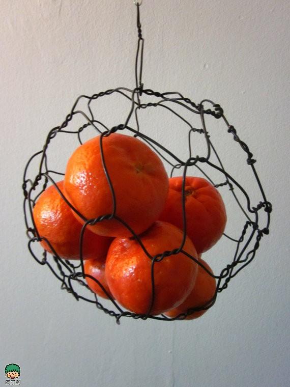 Mini Hanging Sphere Basket