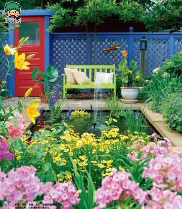 大胆尝试 巧妙运用色彩 轻松实现你的花园梦想