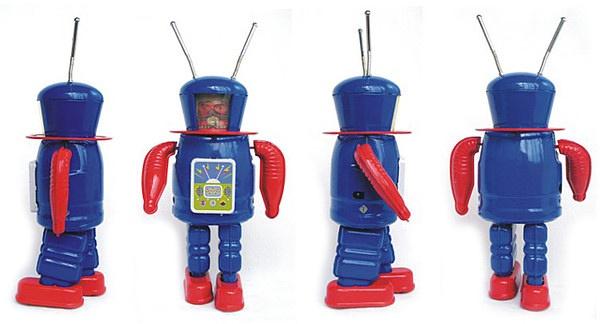 超级可爱的机器人模型欣赏—机器人玩具大全(一)