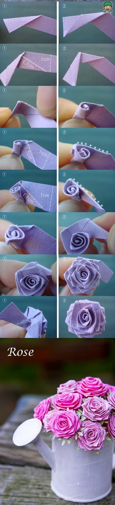19朵玫瑰花的花语-教你简单玫瑰花的折法