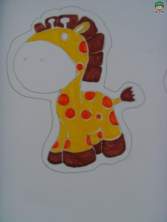 可爱的儿童创意绘画作品