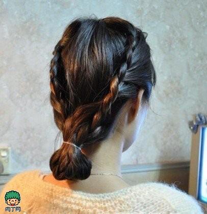 韩式复古编发DIY 秀淑女味(组图)