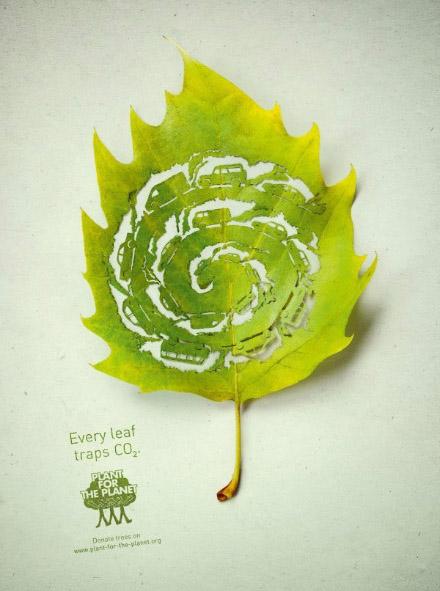 树叶上面的雕塑作品 叶子上的微雕世界