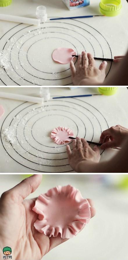 软陶手工艺品制作图解 逼真的牡丹花教程