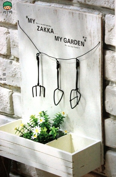手工装饰房间 铝丝DIY小摆件、温馨的园艺小工具装饰物